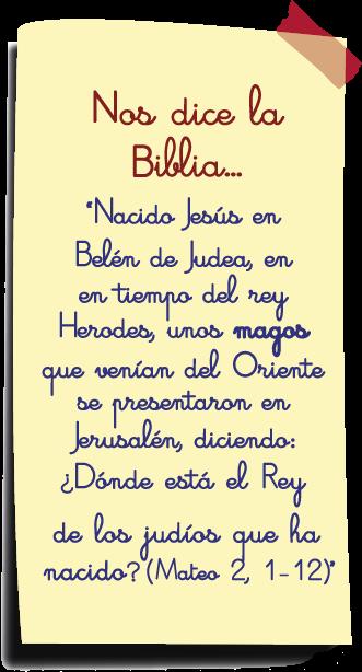 nos dice la biblia