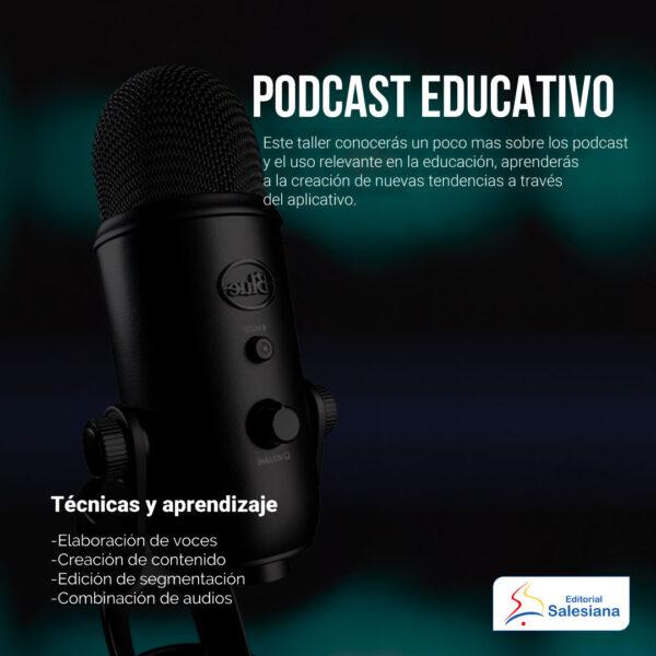 Taller de podcast educativo